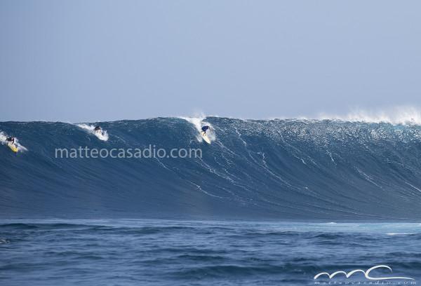 Mark Visser - Jaws - Peahi - Hawaii - Maui - big surf