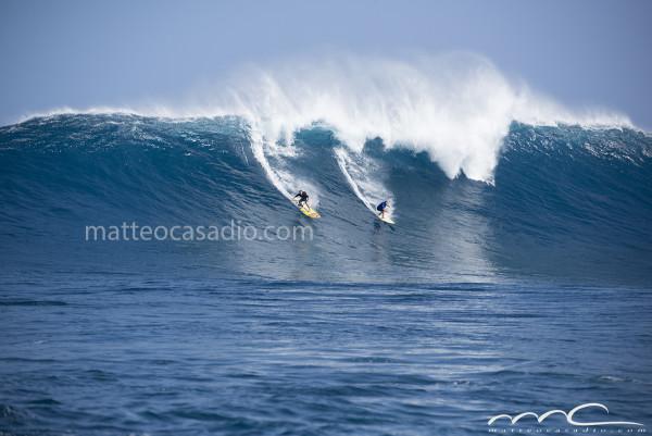 Mark Visser Chuck - Jaws - Peahi - Hawaii - Maui - big surf