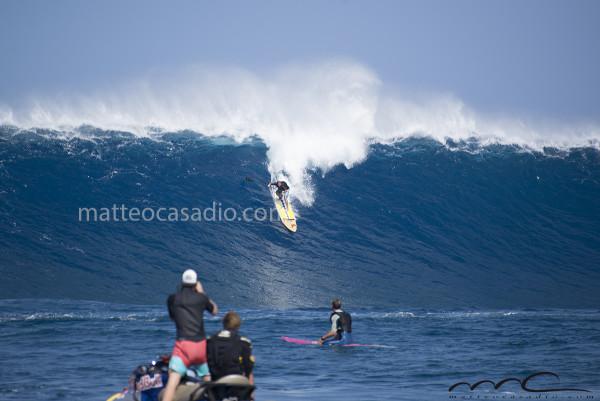 Chuck Patterson - Jaws - Peahi - Hawaii - Maui - big surf