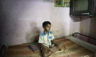Thinking boy - India
