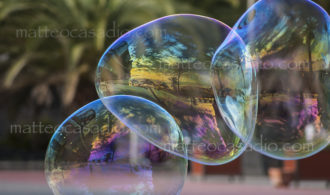 Soap bubbles - Canary Islands