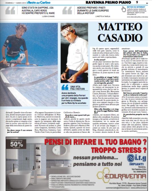 Articolo Resto del Carlino-11-03-2018